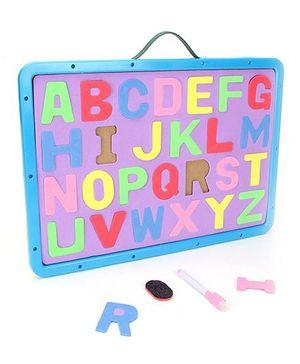 Alphabet Cum Writing Board - Blue Purple