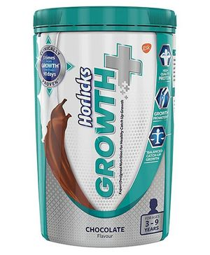 Horlicks Growth Plus Health & Nutrition Drink Chocolate Flavor - 400 gm Pet Jar