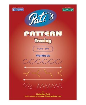 Pattern Tracing 1 Downloadable Workbook - English