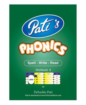 Phonics 8 Downloadable Workbook - English
