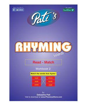 Rhyming Words 2 Downloadable Workbook - English