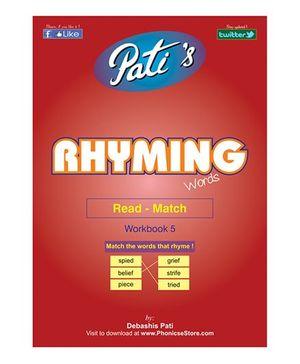 Rhyming Words 5 Downloadable Workbook - English