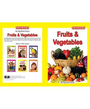 My Big Book Fruits & Vegetables - English