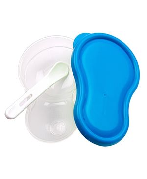 Little's Mashing And Feeding Bowl - Blue