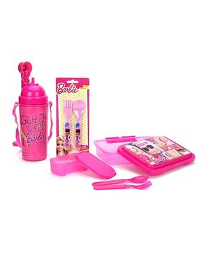 Barbie Lunch Box Set - Pack Of 4