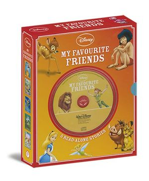 Disney My Favourite Friends Pack of 5 Books With CD - English