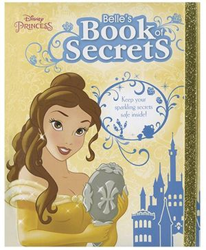 Disney Princess Belle's Book of Secrets - English