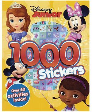Disney Junior 1000 Stickers - English
