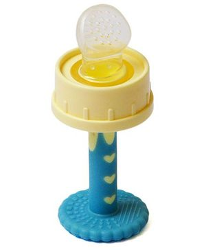 Babycenter India Fruit Feeder Teether - Blue & Yellow