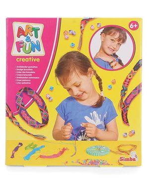 Simba Art And Fun Bracelet Making Kit Multicolor