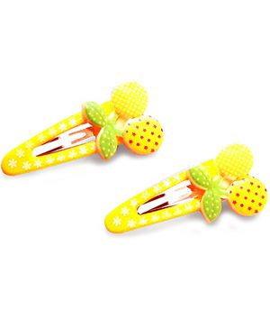 Akinos Kids Berry Snap Clips - Yellow