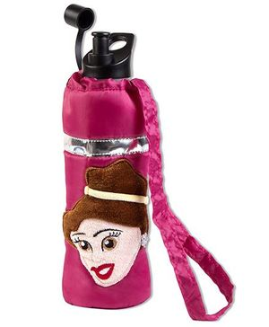 Thought Counts Belle Water Bottle Cover - Pink