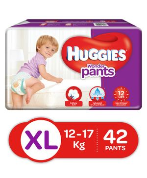 Huggies Wonder Pants Extra Large Pant Style Diapers - 42 Pieces