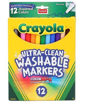 Funskool Crayola Color Clicks Markers - 12 Count