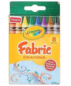 Funskool Crayola Fabric Crayons - 8 Counts