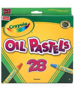 Funskool Crayola Oil Pastels - 28 Counts
