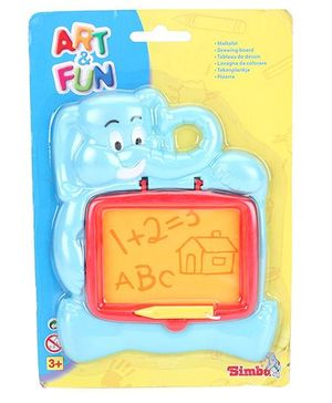 Art And Fun Elephant Drawing Board - Blue