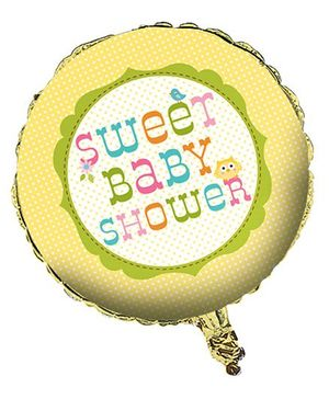 Charmed Celebrations Foil Balloon Baby Shower Print - Multicolor