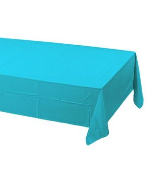 Charmed Celebrations Table Cover - Blue