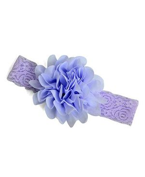 Little Miss Cuttie Flower Headband - Lavender