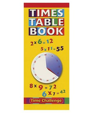 Time Table Book - English
