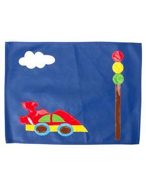 Li'll Pumpkins Car Table Mat - Blue