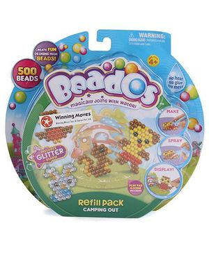 Beados Glitter Beads Camping Out - Multicolor