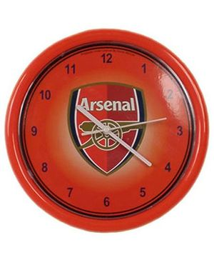 Arsenal FC Wall Clock - Red