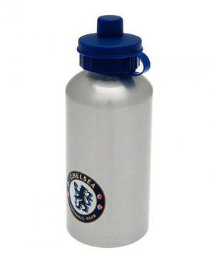 Chelsea FC Aluminium Sports Water Bottle Silver - 500 ml