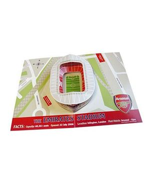Arsenal FC Pop Up Birthday Card Multicolor - 1 Piece