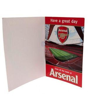 Arsenal FC Musical Birthday Card - 1 Piece