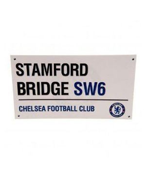Chelsea FC Birthday Card Street Sign - 1 Piece