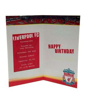Liverpool FC Birthday Card No 1 Fan Red - 1 Piece