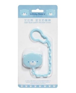 Abby Bear - Safety Pacifier Chain