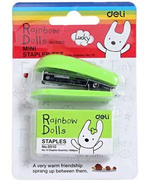Deli - Rainbow Dolls Mini Stapler Set