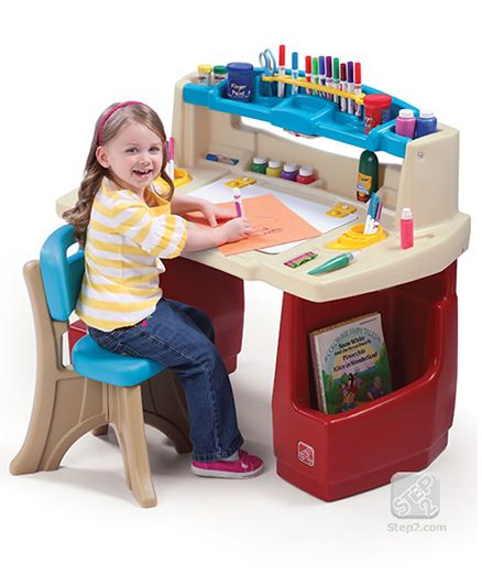 Step2 Deluxe Art Master Desk - Multi Color  sc 1 st  Firstcry.com & Table u0026 Chair Set u0026 Table Online - Buy Kids Furniture for Baby/Kids ...