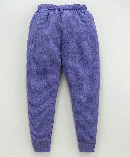 Bodycare Full Length Thermal Leggings - Blue