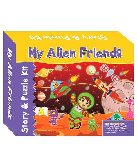 Art Factory My Alien Friends Story Puzzle - 40 Pieces