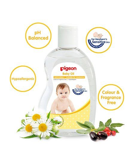 Pigeon Baby Oil - 200 ml