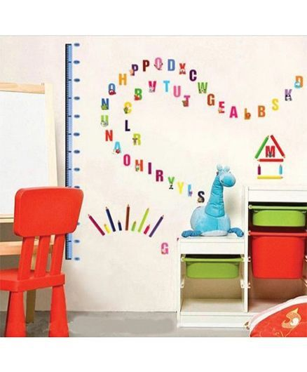 Syga Height Wall Sticker - Multicolor