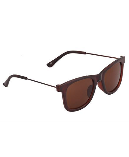 Spiky Classic Wayfarer Kids Sunglasses Brown for Both (4-6 Years ... 063750c972
