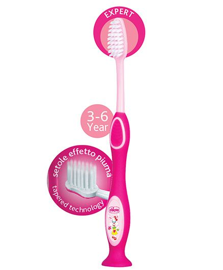 Chicco Toothbrush - Pink