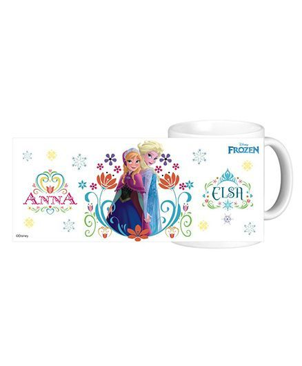 Disney Frozen Anna And Elsa Mug - 325 ml