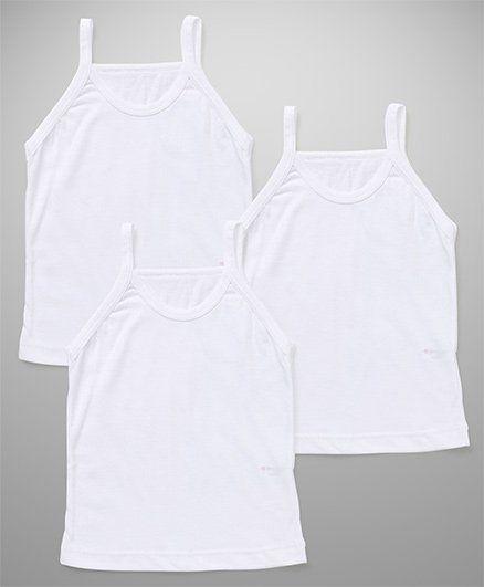Bodycare Plain Slips Pack Of 3 - White