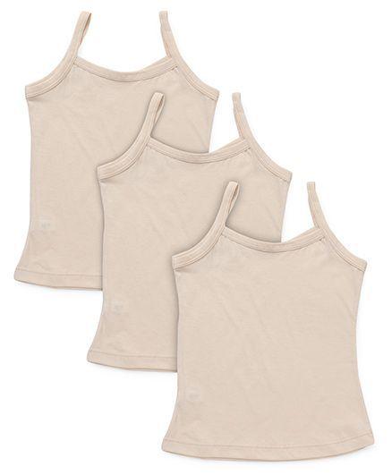 Bodycare Plain Slips Pack Of 3 - Beige
