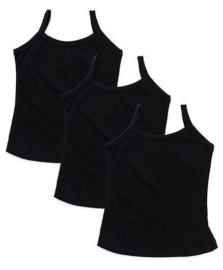Bodycare Plain Slips Pack Of 3 - Black