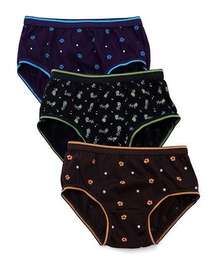 Bodycare Printed Panties Pack Of 3