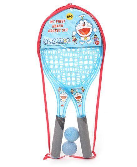 Doraemon Beach Tennis Racket Set (Color May Vary)