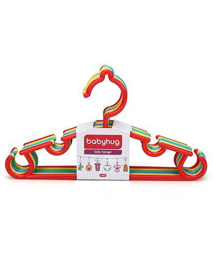Babyhug Set Of 6 Hangers - Multicolor