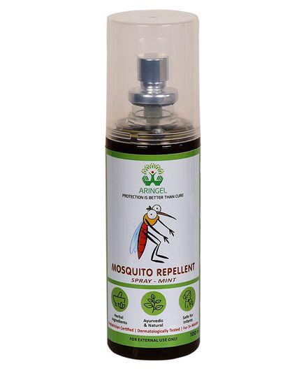 Aringel Herbal Anti Mosquito Spray Mint - 100 ml